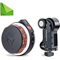 Neewer Follow Focus CN-90F with Gear Ring Belt for DSLR Cameras of 65mm-103mm Lens Diameter Such as Nikon,Canon,Sony DV//Camcorder//Film//Video Cameras,Fits 15mm Rod Mounts,Shoulder Supports