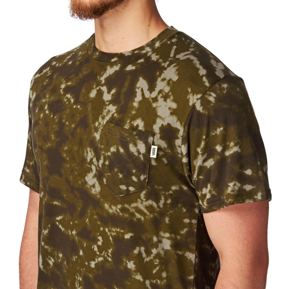 b1a048a639b4a6 Vans GR Geoff Rowley Mens Camo Pocket T-Shirt