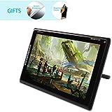 Huion® GT-185 Disegno grafico del monitor con temperato vetro dello schermo e 8 Scorciatoie per PC e Mac (Definizione Standard Version)