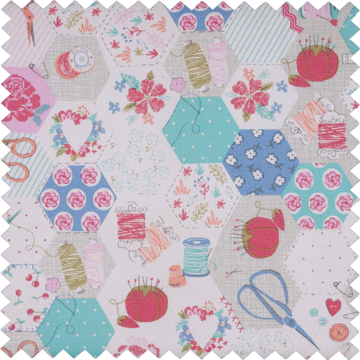 Hobby Gift Notions Matt PVC Print Collection Sewing Machine Bag