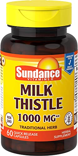 Sundance Milk Thistle Ext, 60 Count