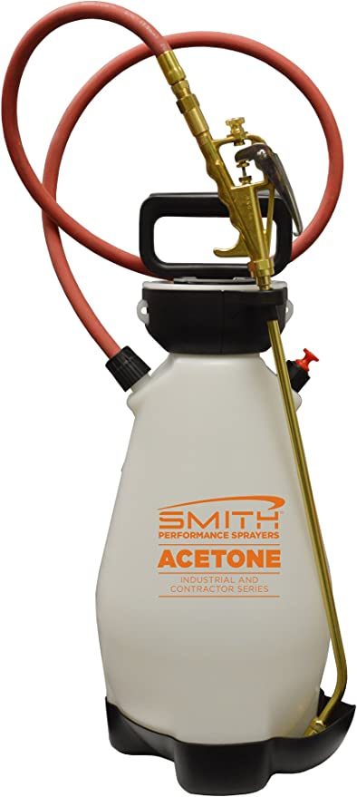 Amazon Com Smith Performance Sprayers 190450 Compression Sprayer For Acetone And Water Based Chemicals 2 Gallon Garden Outdoor