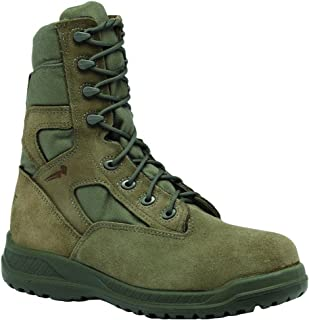 product image for Belleville Men's Waterproof Tactical Combat Green Olive Leather Boots
