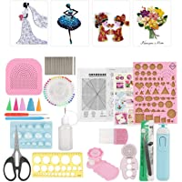 24-Piece Paper Craft for DIY Includes Creativity Paper Slot Tool Set Quilling Tool Set, Quilling Paper, and Many…
