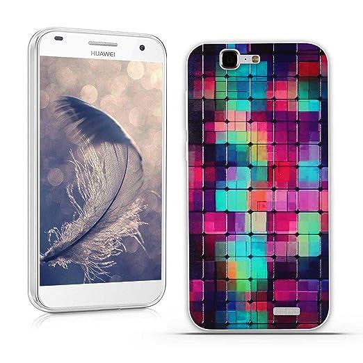 20 opinioni per Huawei Ascend G7 (L01 L03 C199) Cover, Fubaoda Fantasia 3D Rilievo UltraSlim TPU