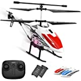 DEERC DE51 Remote Control Helicopter Altitude Hold RC Helicopters with Gyro for Adult Kid Beginner,2.4GHz Aircraft…