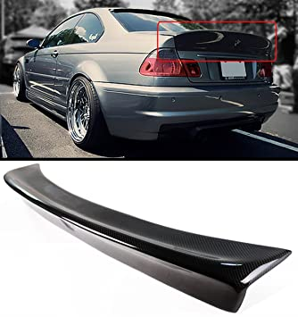 Amazon com: Cuztom Tuning CSL Style Carbon Fiber Rear Trunk Duckbill