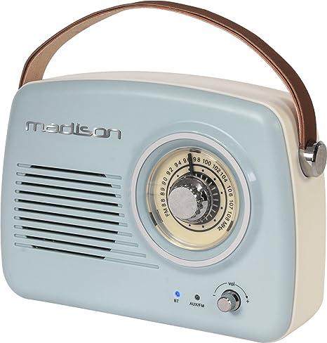 FREESOUND VR30 Madison Radio vintage autonome avec Bluetooth