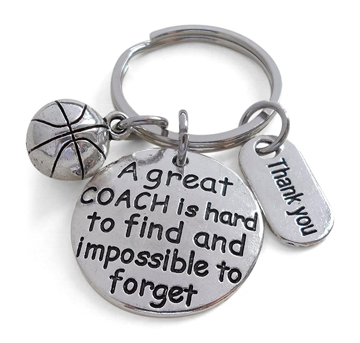 Basketball Coach Gift, Appreciation Gift, A Great Coach is Impossible to Forget 32914000580