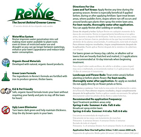 Amazon Com Revive Organic Soil Treatment Granules 25 Lb
