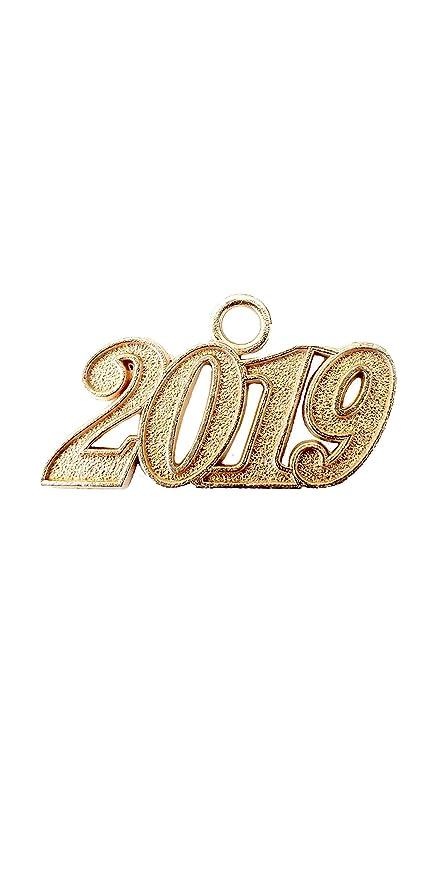 43df283d9fa Amazon.com: Graduation Tassel 2019 Year Charms (Gold): Sports & Outdoors