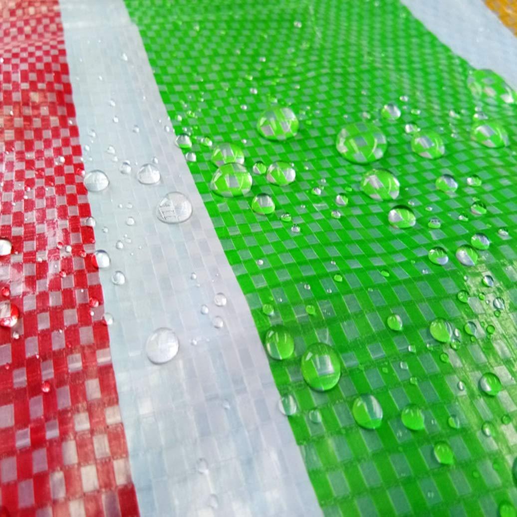 GLP Striscia antipioggia impermeabile cerata protezione solare imbottita strisce di colore panno tessuto di plastica intrecciata stoffa di stoffa tessuta fiore fiore tarpaulin nastro sottile (150 g