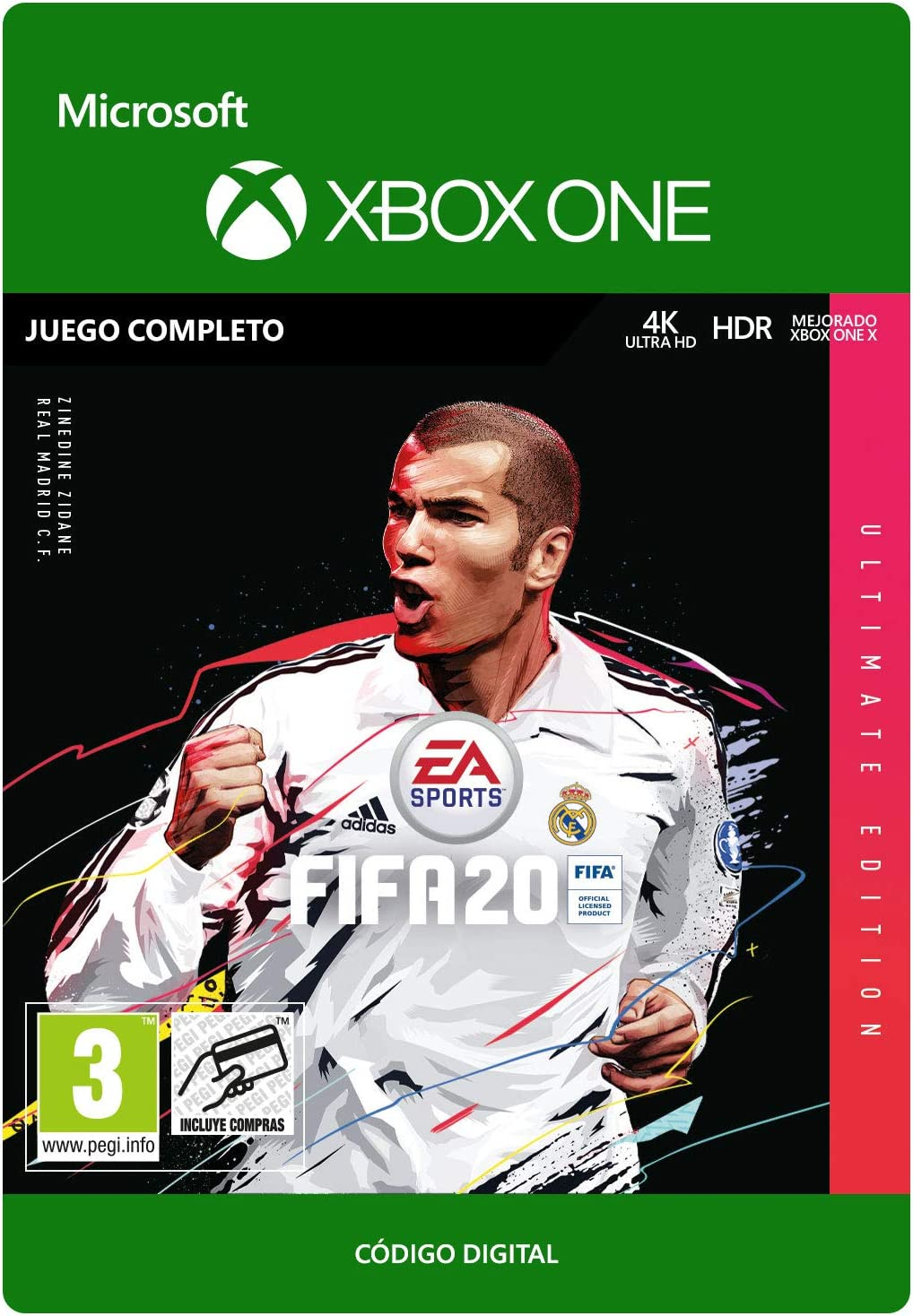FIFA 20: Ultimate Edition (Post-Launch) | Xbox One - Código de ...