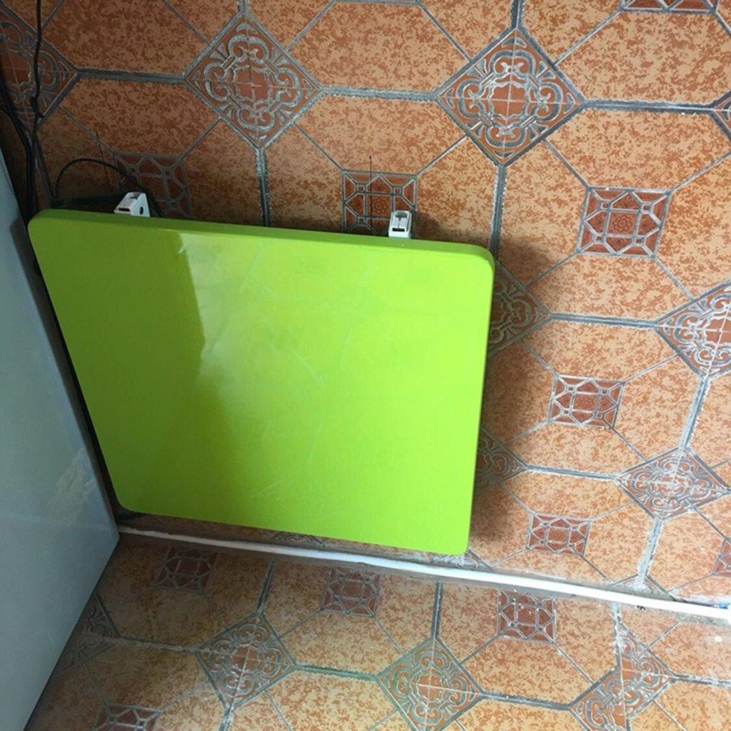 折りたたみ式壁掛けテーブル多機能長方形の目に見えないダイニングテーブル壁掛け机ライティングデスクカラーサイズオプション ( 色 : 緑 , サイズ さいず : 80cm*70cm*2.5cm ) B0796NK761 80cm*70cm*2.5cm|緑 緑 80cm*70cm*2.5cm