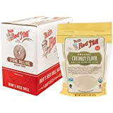 Bob's Red Mill Organic Coconut Flour, 16-ounce (Pack of 4)