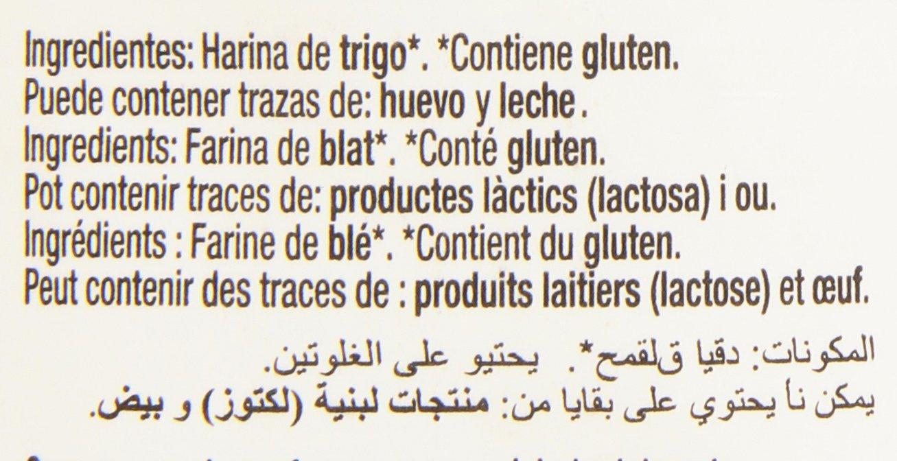 Gourmet - Harina de trigo - Contiene gluten - 500 g: Amazon.es: Alimentación y bebidas