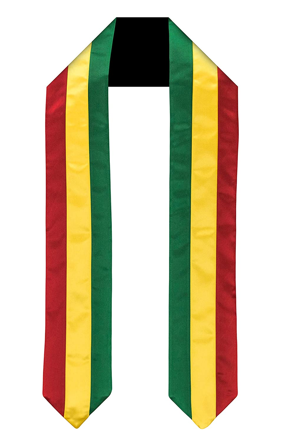 Mali Flag Graduation Sash//Stole International Study Abroad Adult Unisex