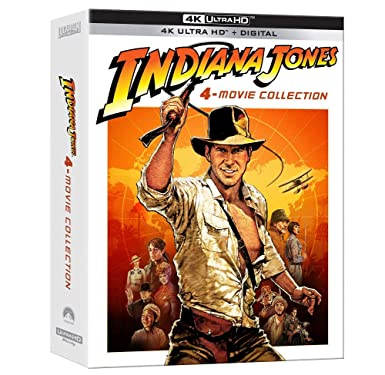 Poster. Indiana Jones: 4-Movie Collection