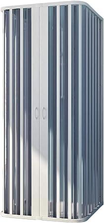 Forte Mampara de Ducha 3 Lados 70x70x70 CM H185 PVC Mod. Nova: Amazon.es: Hogar