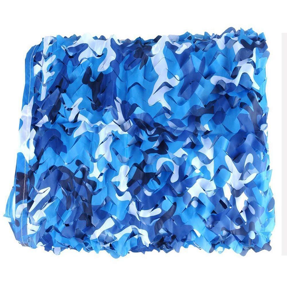 10x20m(32.865.6ft) GaoLP Filet De Camouflage,Bleu,Oxford Filet D'Ombrage,Camping,Loisirs De Plein Air,Tir Militaire, Tente pour Enfants