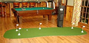 StarPro 4ft x 12ft 5-Hole Mobile Professional Practice Putting Green Best in The World.""