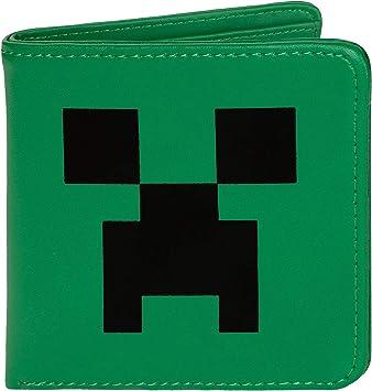 Cartera Minecraft Creeper: Amazon.es: Juguetes y juegos