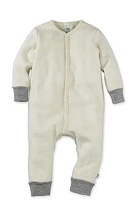 08e4269139 hessnatur Baby Mädchen und Jungen Unisex Wollfrottee Overall aus Reiner  Bio-Schurwolle Natur 98/104: Amazon.de: Bekleidung