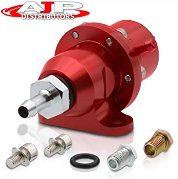 Red Bolt On Replacement Fuel Pressure Regulator For Honda Acura DOHC B16 B18