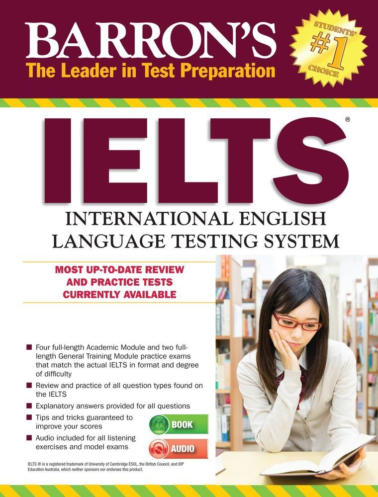 Barron's IELTS with MP3 CD, 4th Edition by BARRONS