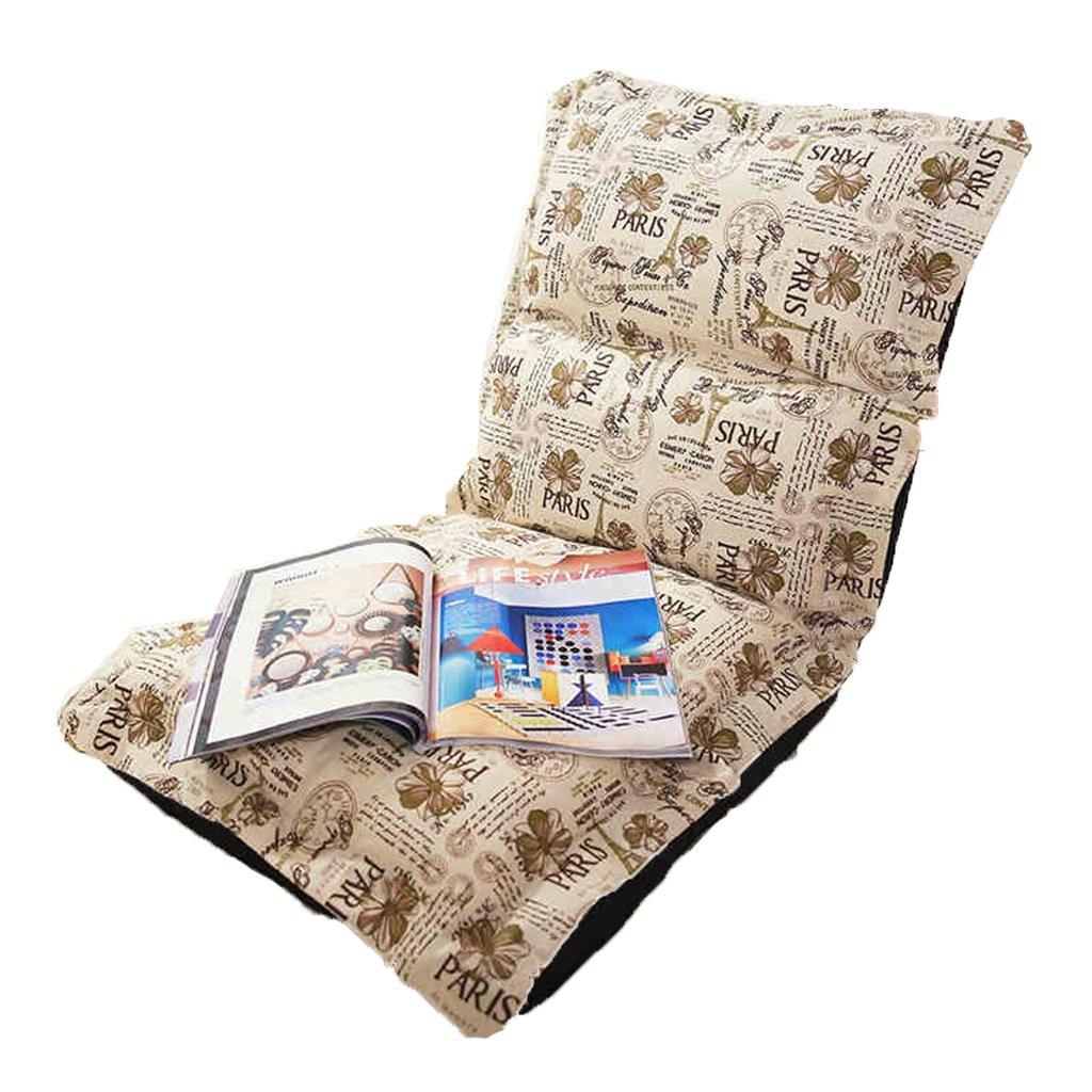 Bodenstuhl Faltendes Boden-Stuhl-Sofa Mit Hinterer Unterstützung, Japanische Faule Männer-Stühle
