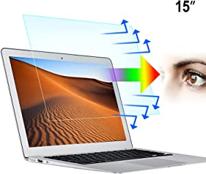 "2-Pack 15.6 Inch Laptop Screen Protector -Blue Light and Anti Glare Filter, Eye Protection Blue Light Blocking & Anti Glare Screen Protector for 15.6"" with 16:9 Aspect Ratio Laptop"
