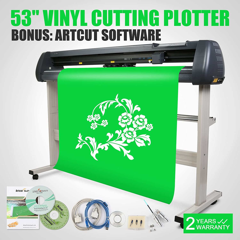 PVRO Máquina Vinilo Cortador Trazador Plóter de Corte Con EscáNer Cortador Vinyl Cutter Plotter Cutting Plotter 53