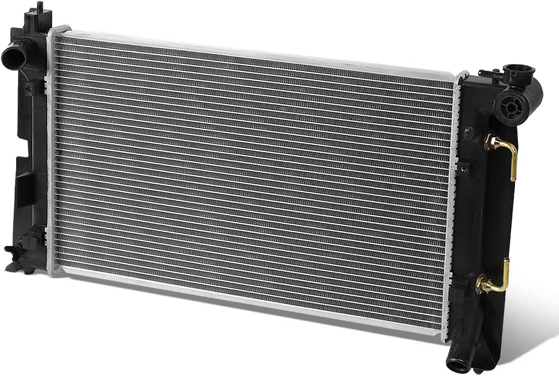 DPI 2428 OE Style Aluminum Core High Flow Radiator Replacement for 03-08 Corolla//Matrix AT//MT