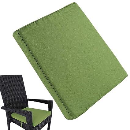 Surprising Amazon Com Uheng 6 Pack Patio Outdoor Chair Cushions With Beutiful Home Inspiration Xortanetmahrainfo