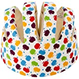 Newcomdigi Baby Infant Head Helmet Toddler Safety Helmet Infant Toddler Kids Children Apple Pattern
