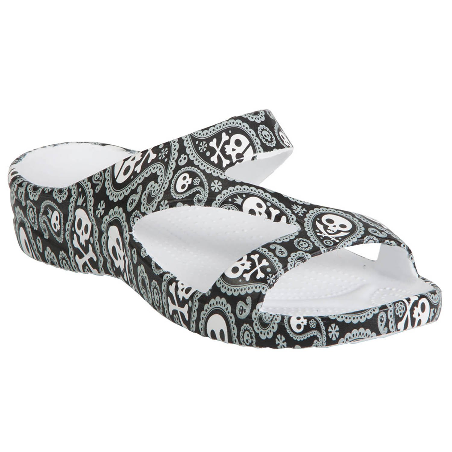 DAWGS Women's Arch Support Loudmouth Z, Shiver Me Timbers, 7