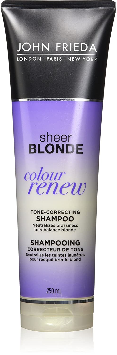 JOHN FRIEDA® Sheer Blonde® Colour Renew Tone-Correcting Shampoo, 250 mL Kao