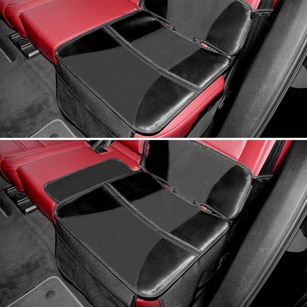 KYG Kindersitzunterlage Isofix Geeignet Autositzauflage f/ür Kindersitze Sitzschoner zum Schutz Ihrer Autositze
