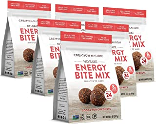 product image for No-bake Protein & Energy Bite Mix - Makes 24 Protein Balls, 7-9g protein/ serv, tastes like a chocolate coconut cookie! Keto, Paleo, Vegan, Gluten Free, No Sugar Added. Cocoa for Coconuts, 6-Pack