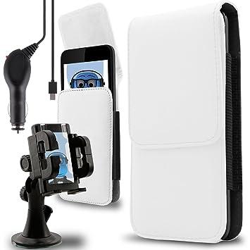 iTALKonline Huawei P9 Lite Premium PU piel vertical lateral ...