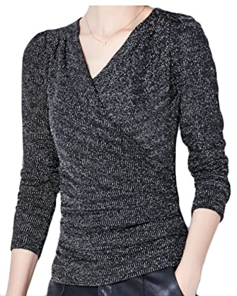 e973b2e1ec9a5a omniscient Women s Cozy V-Neck Stripe Long Sleeve Top T-Shirts at Amazon  Women s Clothing store
