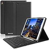 """iPad 10.5 Keyboard Case with Pencil Holder for iPad Air 3 2019/iPad Pro 10.5"""" 2017,Magnetically Bluetooth Keyboard,iPad…"""