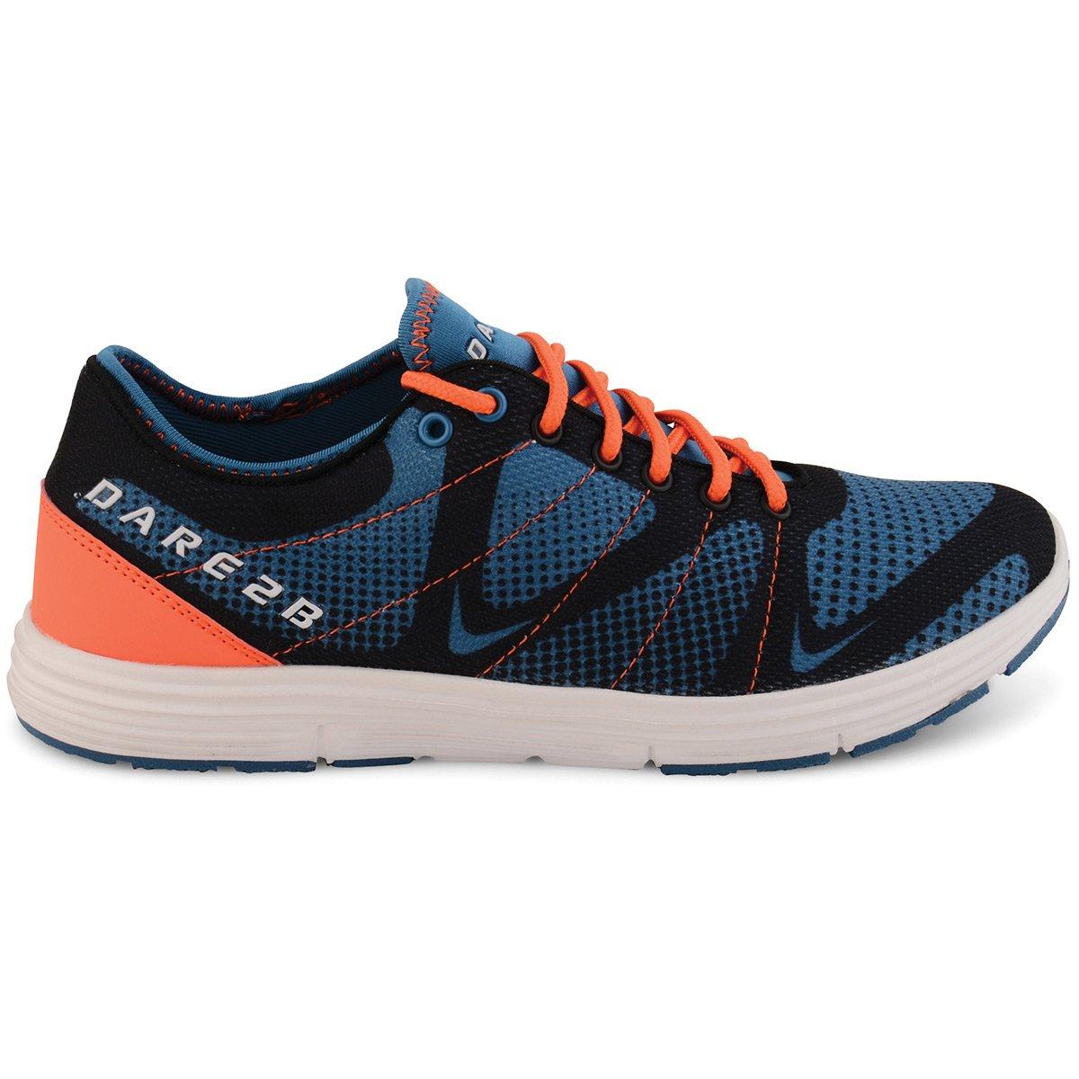 Dare 2b Zapatillas de Poliéster Para Hombre 44 EU|Kingfisher Blue/Pumpkin Orange