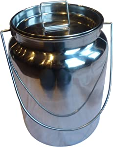 Stainless Steel Milk Can Totes (10 Quart)