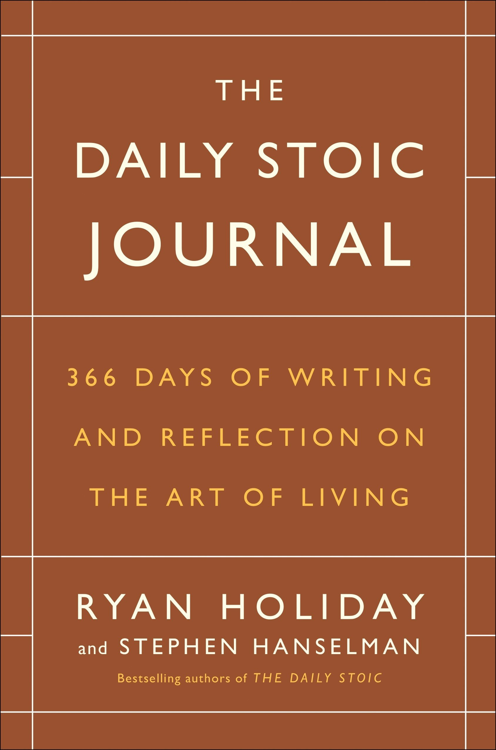 The Daily Stoic Journal: 366 Days of Writing and Reflection on the Art of Living by Portfolio