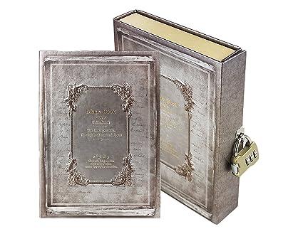 Journal intime code Carnet secret Bloc-Note Rétro Fourniture Scollaire Magic Book Agenda avec Page Coloré Journal en Cadenas à code pour Note portable ...