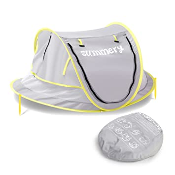 Summery Instant Portable baby beach play tentinfant travel bedUV protection sun tent  sc 1 st  Amazon.com : infant tent bed - memphite.com