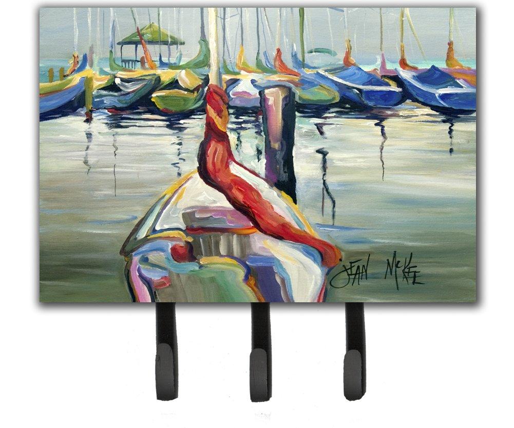 Carolines Treasures JMK1056TH68 La Salle Sailboats Leash or Key Holder Multicolor Large