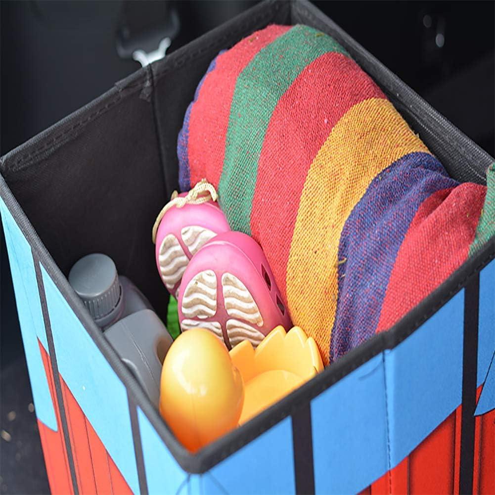 Truck Zu Hause SUV B/üro Antirutsch-Klett 30 * 30 * 30cm f/ür Auto Gro/ß Kofferraum Organizer Wasserdicht LALEO Airdrop-Box PUBG Faltbare Kofferraumtasche AutoKofferraum mit Deckel