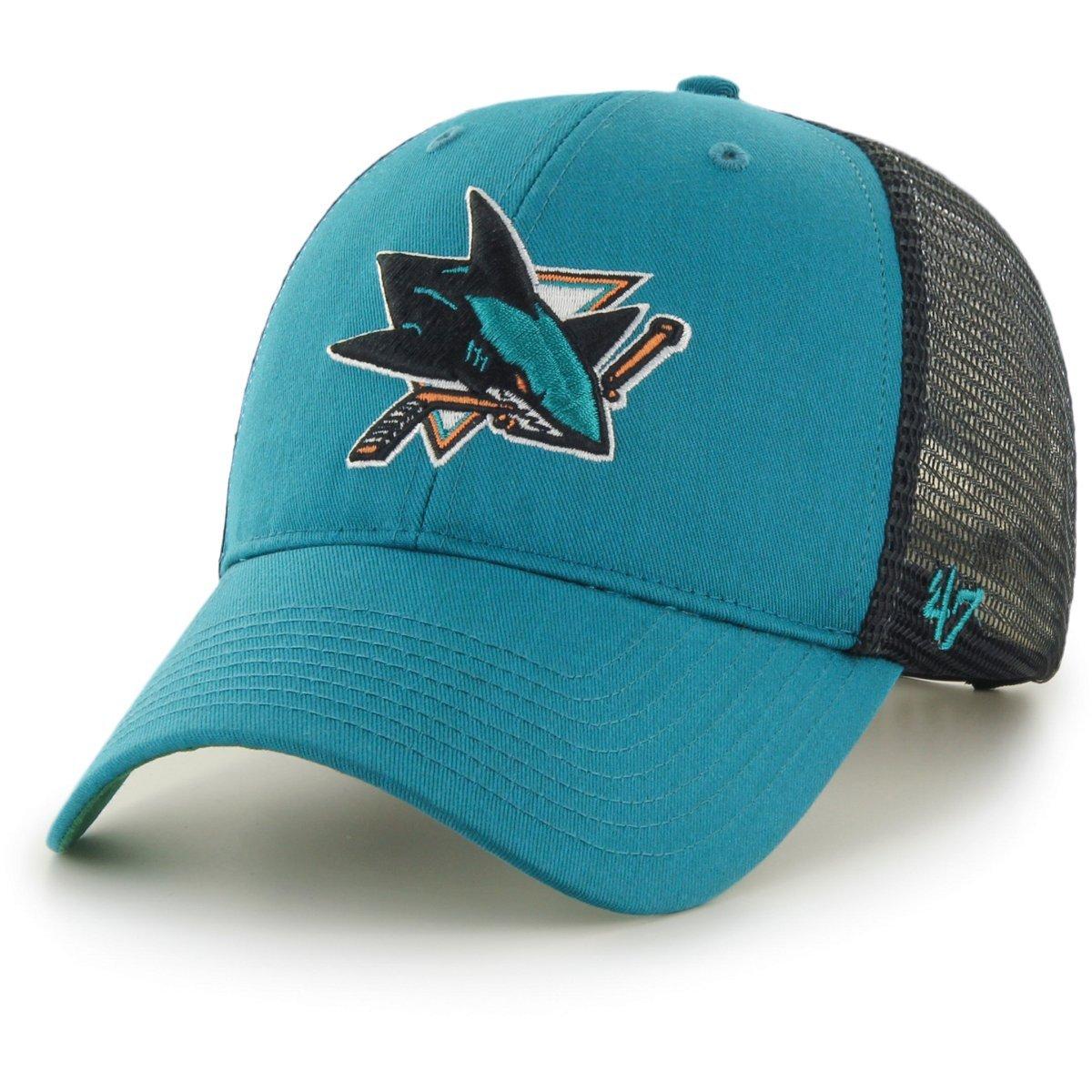 47brand San Jose Sharks Mvp Curved Adjustable Cap Weitere Wintersportarten
